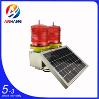 AH-LS/D Low-intensity Double Solar Aviation Obstruction Light