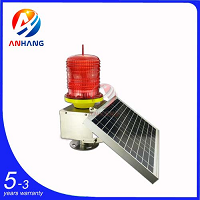 AH-LS/S Low-intensity Solar-Powered Aviation Obstruction Light
