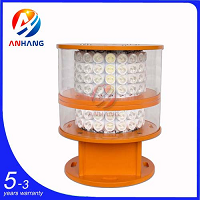 AH-MI/H Medium-intensity White & red LED Obstruction Light